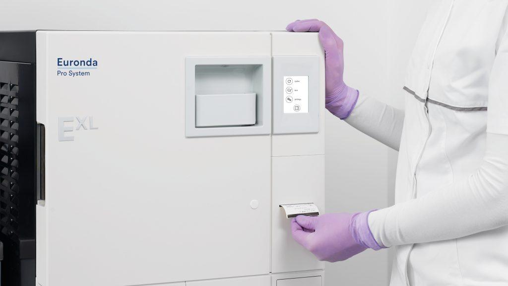 autoclave EXL imprimante étiquettes ahdésives